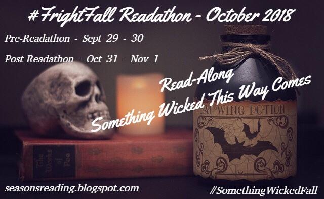 #FrightFall #readathon — starting line — #somethingwickedfall