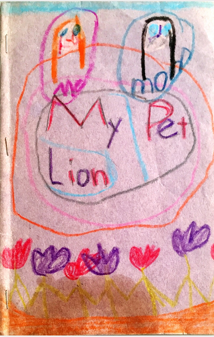 """""""My Pet Lion"""" -story by a young aspiringauthor"""